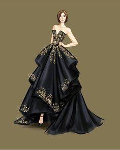 Dress Design Drawing, Dress Design Sketches, Fashion Design Sketchbook, Fashion Design Drawings, Dress Drawing, Fashion Figure Drawing, Fashion Drawing Dresses, Fashion Illustration Dresses, Dress Illustration