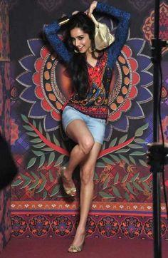 Shraddha Kapoor for Anita Dongre's Global Desi http://globaldesi.in/