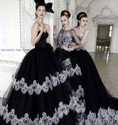 2015 black Wedding Dresses | ... wedding dresses 2015 collection: elegant black and white bridal dress