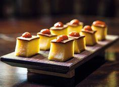 bolo salgado de macaxeira, queijo curado e goiabada picante (Foto: Lufe Gomes / Editora Globo)