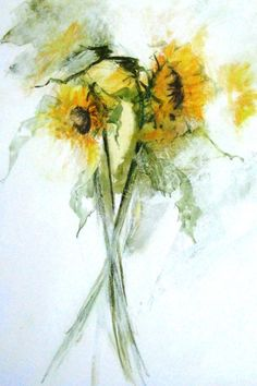 Sunflowers by Tracey Waghorn