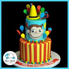 Curious George Birthday Cake – Blue Sheep Bake Shop