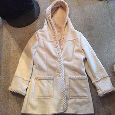 Gorgeous creamy soft coat *FLASH SALE Gorgeous creamy soft coat by St Johns Bay St. John's Bay Jackets & Coats Pea Coats