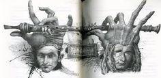 Картинки по запросу владислав Ерко. иллюстрации к трагедии Шекспира «Гамлет»
