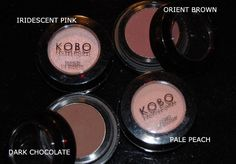 KOBO Professional eyeshadows available only in NATURA drugstores in Poland