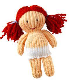 Strikket dukke: Min egen Dukke-Lise