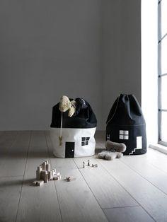 Big House Storage Bag - Black