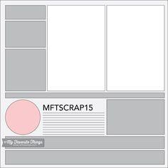 MFT Printable Resources | Scrapbook Sketches – My Favorite Things