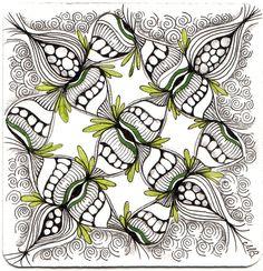 Zentangle | zentangle by shelley bauch | Fractal & Mandala Inspirations