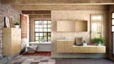 Salle de bains charme campagne // http://www.deco.fr/diaporama/photo-la-salle-de-bains-facon-deco-de-charme-49291/salle-de-bains-charme-sud-696803/