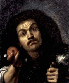 Pietro Bellotti · Autoritratto in veste di stupore · 1654-55 · Collezione privata