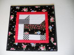 Handmade Scottie Dog Quilted Table Topper by ForgetMeNotQuilteds, $30.00