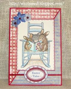 """""""Easter Tales"""" by Michaela Hegenbart on House-Mouse Designs®"""
