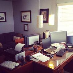 #wherebloggersblog - hey, that's my office! ;)