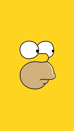 iPhone 6 Homer Simpson Face Wallpapers