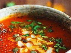 15-Minute Cancer-Fighting Soup with Turmeric and Tomatoes | StethNews