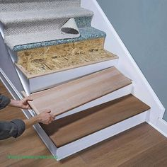 Attrayant 71 Cool Image Of Bruce Hardwood Stair Treads Stairwell Decorating, Stair  Makeover, Painted Stairs