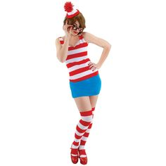 Where's Waldo Dress Lg Xl