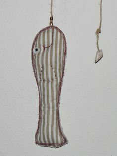 Druhý úlovek. Z mořské zátoky... ♥ angler fish, fisch, sewn toys