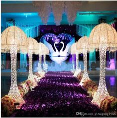 2018 New 33 Feet Long 55 Inch Wide Milk White Rose Petal Aisle Runner Carpet For Wedding Centerpieces Decoration Supplies Teal Wedding Centerpieces, Gothic Wedding Decorations, Centerpiece Decorations, Wedding Spot, Rose Wedding, Purple Wedding, Wedding Ideas, Wedding Themes, Perfect Wedding