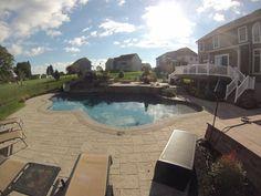 Poolside Patio & Outdoor Living Area