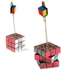 PL-4656 Custom Rubik's® Cube NoteNest. Get all six sides (nine squares per side) for displaying artwork, including four-color photography and graphics!