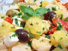 Receita Entrada : Salada portuguesa de Angelinha25