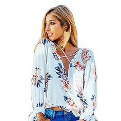 Floral Printing Long Sleeve Kimono V Neck Top – Short Thick & Curvy https://shortthickandcurvy.com/collections/blouses/products/casual-chiffon-women-blouse-floral-printing-long?utm_campaign=crowdfire&utm_content=crowdfire&utm_medium=social&utm_source=pinterest