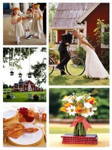 Outdoor, Country Wedding Photography...