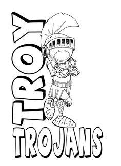 Wayne Beemans Sketchbook: Troy Trojan Concept Idea
