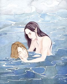 """""""The Little Mermaid"""" by Delia Evin"""