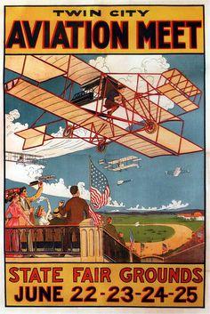 Twin City Aviation Meet. 1910