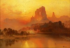 Thomas Moran The Golden Hour