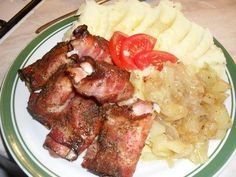 Irena Hufová: Vrabci v hrsti Mashed Potatoes, Chicken Recipes, Pork, Food And Drink, Beef, Dinner, Cooking, Ethnic Recipes, Meat