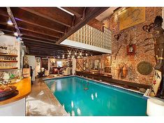 log home indoor swimming pool | Break Out the Speedos! See 10 Amazing Indoor Pools - Forbes