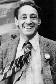 Harvey Milk (1930-1978), activist, organizer and the first openly gay man elected to public office in the United States.