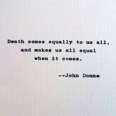 New to RogueryPress on Etsy: John Donne quote; early modern English poet; death and mortality quotation (15.00 USD)