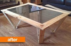 As upcycled projects go, this one is pretty impressive. Using recycled wooden pallets, Jack created a piece of DIY furniture that barely resembles its former life as industrial supplies. It also has a special feature that's as surprising as it is inventive!