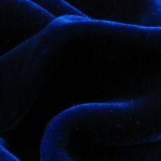 Royal Blue Velvet Silk fabric