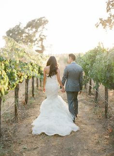 a76f31f96352 Soft + Romantic Summer Winery Wedding