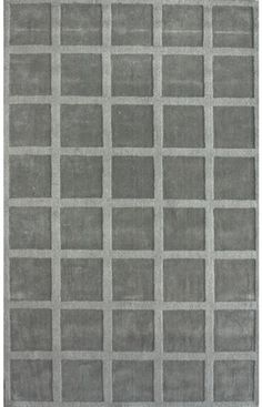 Rugs USA Spectrum Collection Squares Grey Rug $209