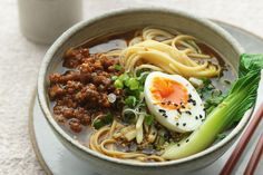 ramen recipe with pork and spicy noodles by Jamie Oliver The ultimate winter warmer, this spicy miso ramen will keep you cosy on the coldest of nights.The ultimate winter warmer, this spicy miso ramen will keep you cosy on the coldest of nights. Pork Ramen Recipe, Ramen Noodle Recipes, Pork Recipes, Asian Recipes, Cooking Recipes, Healthy Recipes, Ethnic Recipes, Easy Ramen Recipes, Best Ramen Recipe