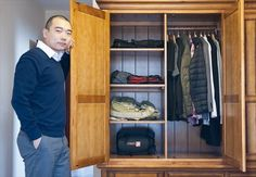 Less is more (Global Times, November 17, 2014)  (Embracing minimalism, a challenge to live with 100 items of clothing or less in China)