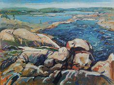 Arthur Lismer-Group of Seven- Brink Of The Falls