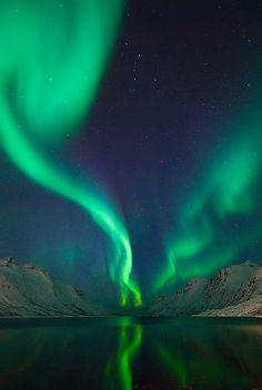 Aurora borealis: Photo by Martin Eliassen