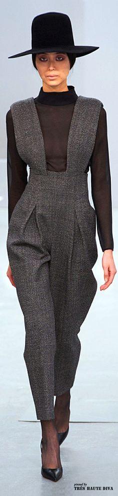 #London Fashion Week Barbara Casasola Fall/Winter 2014 RTW