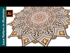 (5) How to draw Lace Patterns in Adobe Illustrator - YouTube