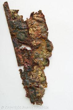 Fragment - Textile by Susan Hotchkis