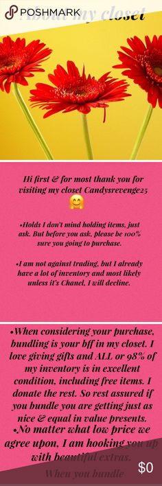 Candysrevenge25 closet information Facts Other