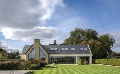 """Private Residence, Oxfordshire - dpa lighting consultants - """"Right Light, Right Place, Right Time"""" ™ Beautiful Homes, Mansions, Landscape, Architecture, House Styles, Places, Projects, Home Decor, Arquitetura"""